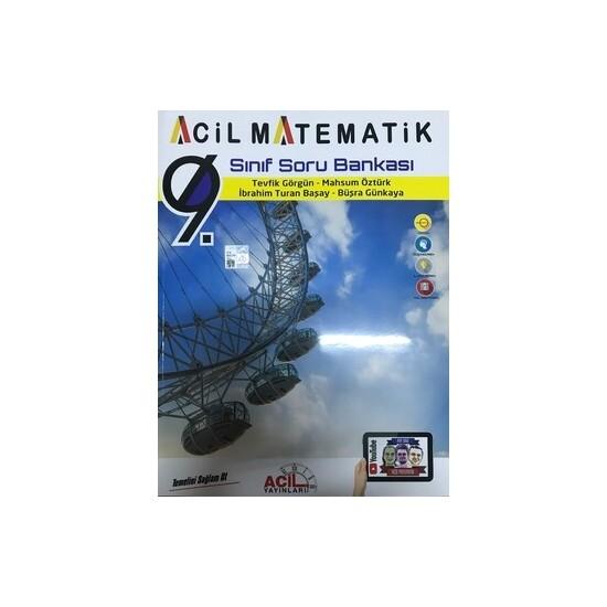 Acil Yayınları 9. Sınıf Acil Matematik Soru Bankası - Tevfik Görgün