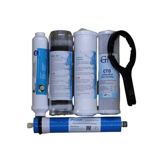 Aqua Clean Ihlas Uyumlu 5'li Su Arıtma Filtresi