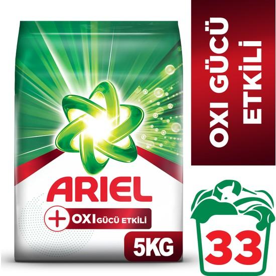 Ariel Oxi 5 Kg Leke Çıkarıcı Etkili Toz Çamaşır Deterjanı