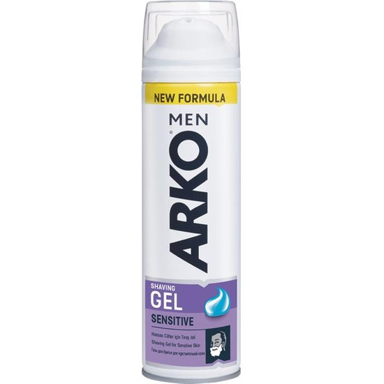Arko Men Tıraş Jeli Extra Sensitive 200 Ml