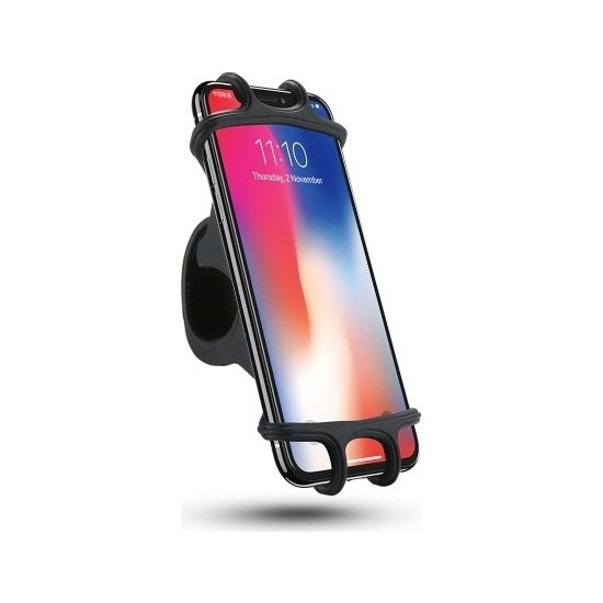 Asfal Esnek Bisiklet Motosiklet Telefon Tutucu - 4.7'' / 6''