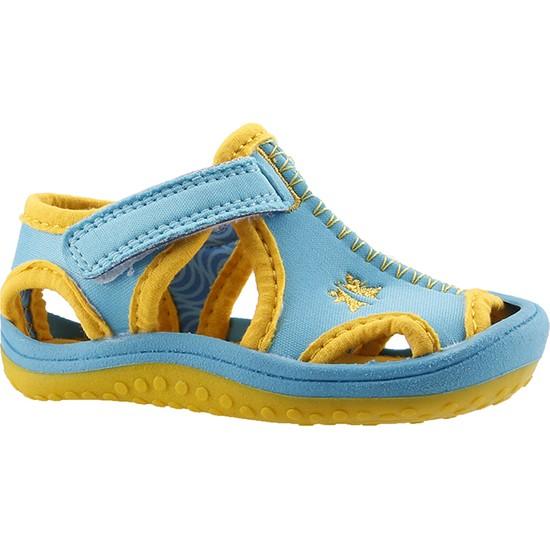 Ayakland Kids Turkuaz Aqua Erkek Çocuk Sandalet Deniz Ayakkabısı