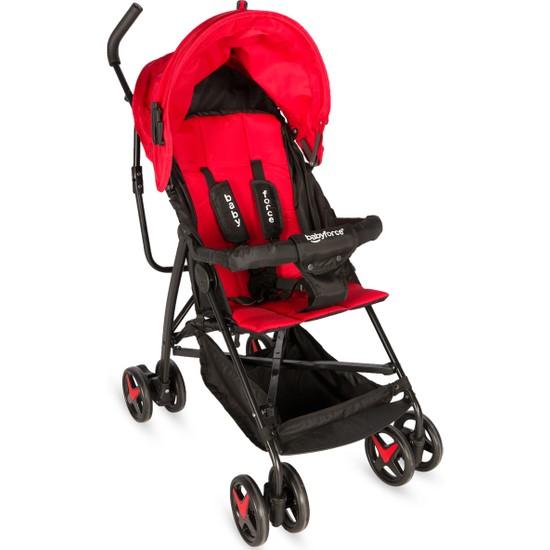 Baby Force BF-30 Joy Baston Bebek Arabası Kırmızı