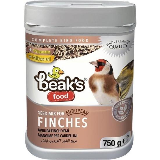 Beaks European Finch Kuş Yemi 750 gr