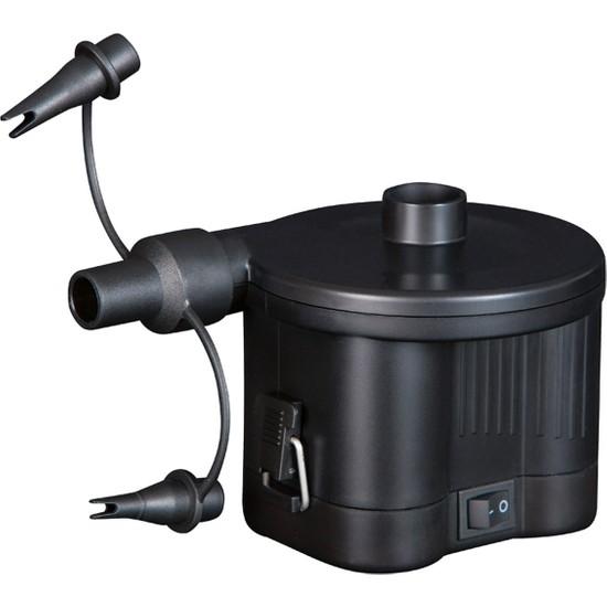Bestway Sidewinder D Cell Air Pump / 62038 Pilli Şişme Ürünler İçin Şişirme Pompası 3 Farklı Uçlu