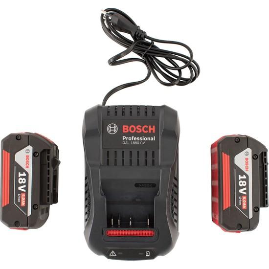 Bosch Profesionel Akü Seti 18V GAL 1880 CV + 2x GBA 18V 5.0Ah