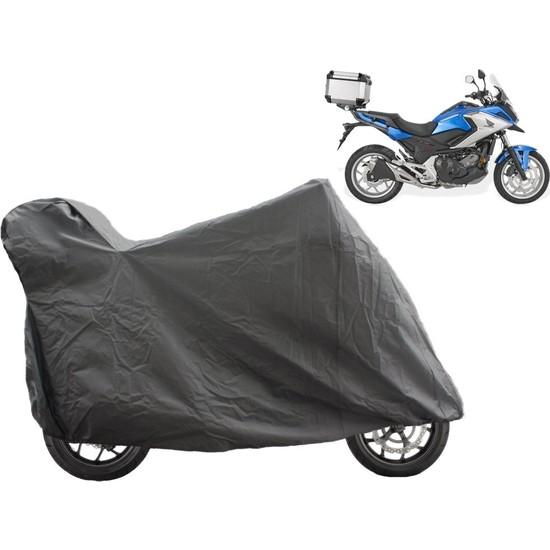 ByLizard Yamaha Ybr 125 Arka Çanta Topcase Uyumlu Motosiklet Branda Örtü Çadır