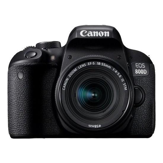 Canon 800D 18-55Mm Is Stm Dslr Fotoğraf Makinesi (İthalatçı Garantili)
