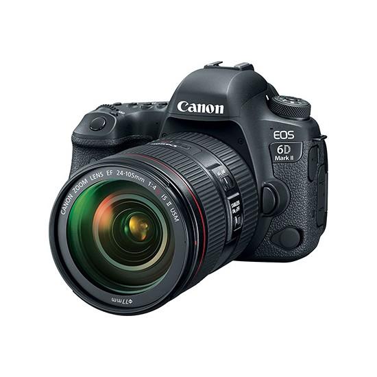 Canon Eos 6D Mark II 24-105mm f/4L IS II USM Lens Kit İthalatçı Garantili