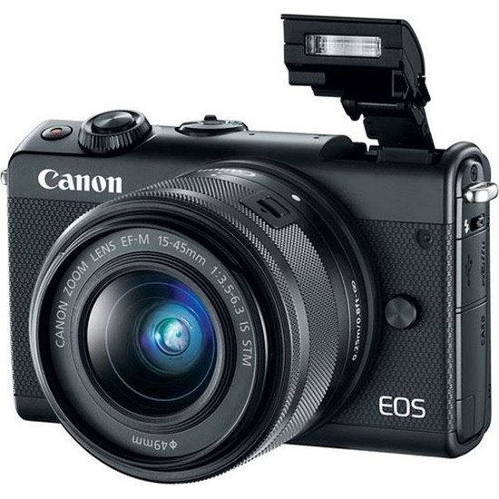 Canon Eos M100 15-45Mm Stm Wi-Fi® Aynasız Dslr Fotoğraf Makinesi