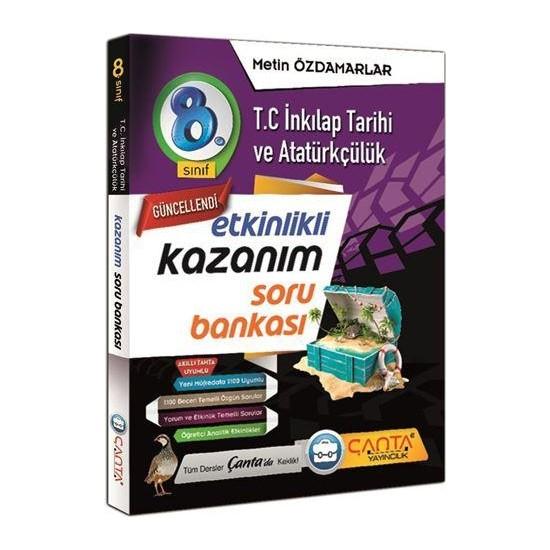 Çanta Yayınları 8. Sınıf Kazanım Tc. Inkılap Tarihi ve Atatürkçülük Soru Bankası