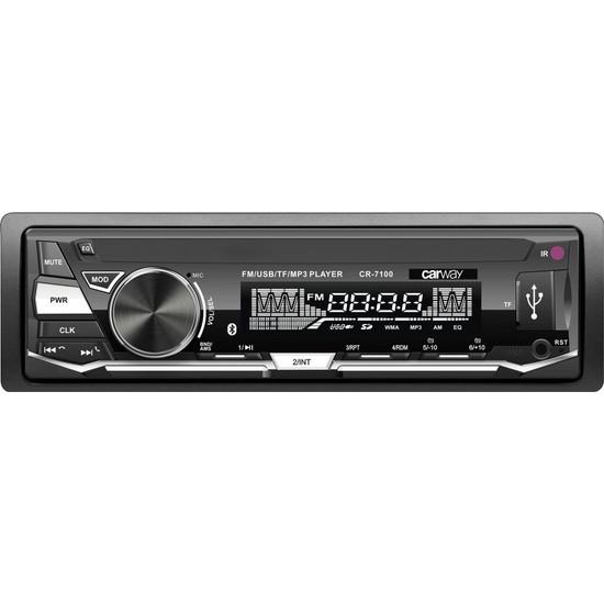 Carway Cr-7100 Bluetooth,Fm/Sd/Usb Oto Teyp