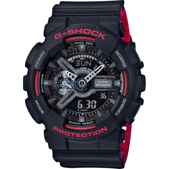 Casio GA-110HR-1ADR G-Shock Erkek Kol Saati