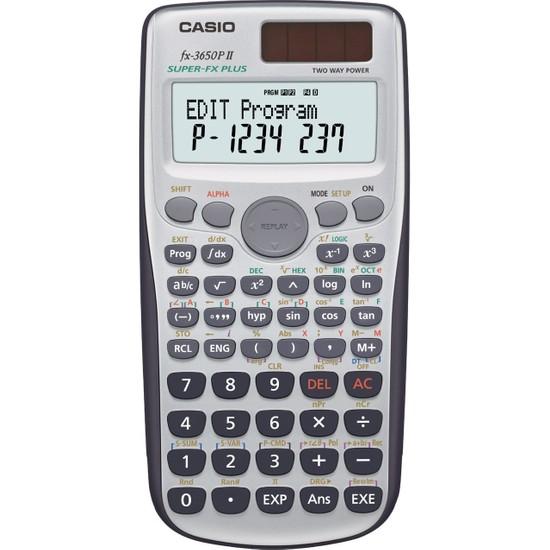 Casio Hesap Makinesi Bilimsel Fx-3650P II