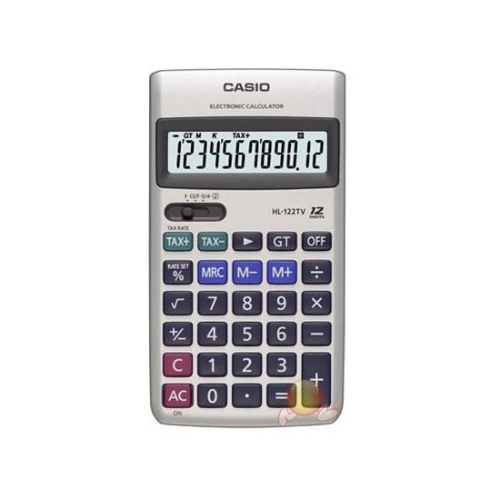 Casio HL-122TV Cep Tipi 12 Haneli Hesap Makinesi