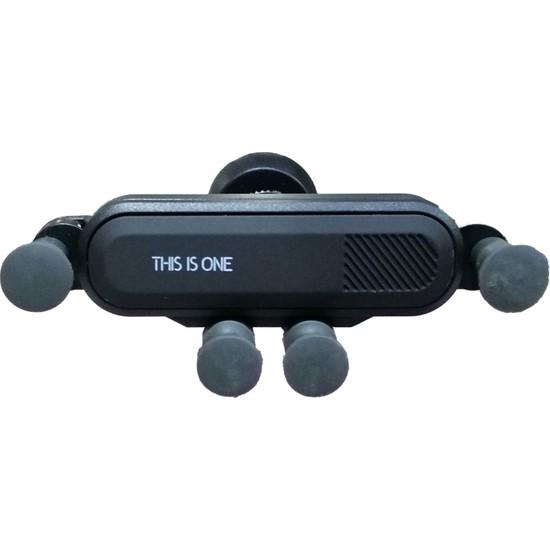 Ceplike Ahtapot Araç İçi Telefon Tutucu - Siyah