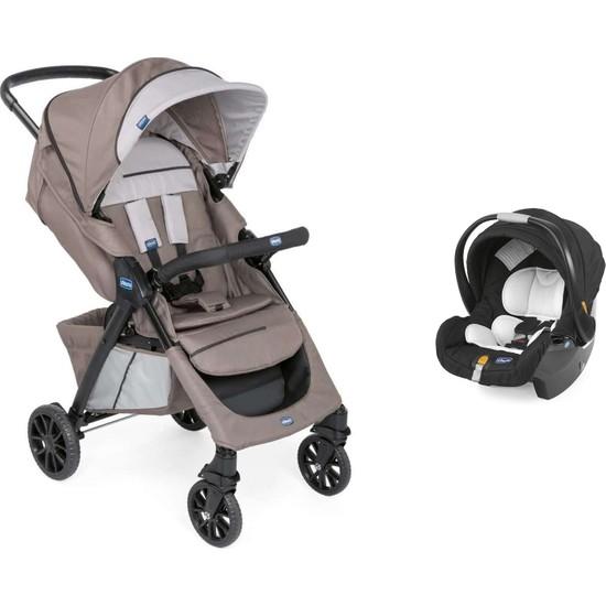 Chicco Duo Kwik One Travel Sistem Bebek Arabası / Moka