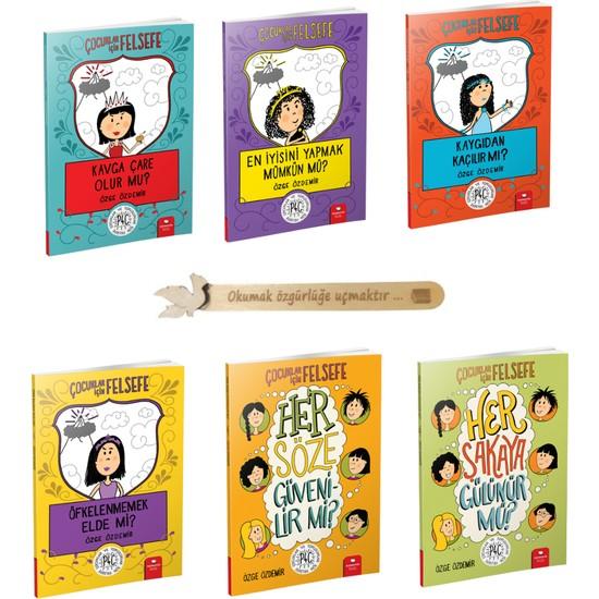 Çocuklar Için Felsefe 6 Kitap Set - Özge Özdemir + Cizo Kitap Ayracı