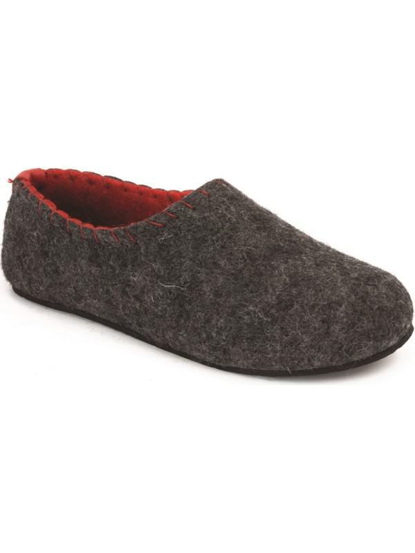Comfortfüsse Yew-W Natural Yün & Mantar Tabanlı Kadın Ev Ayakkabısı