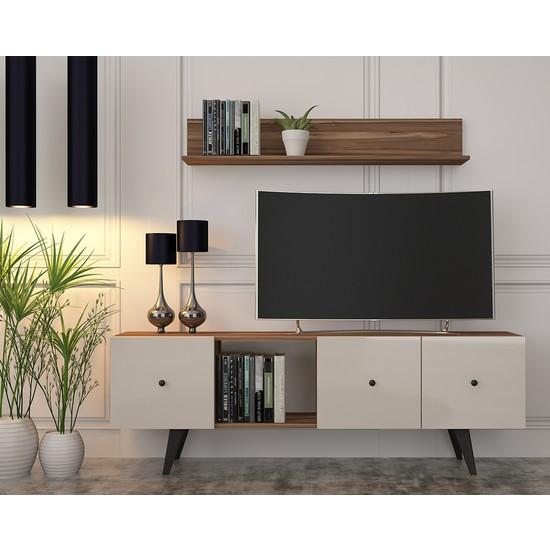 Cool Home Tarz Tv Ünitesi-Ceviz Aytaşı 160 Cm