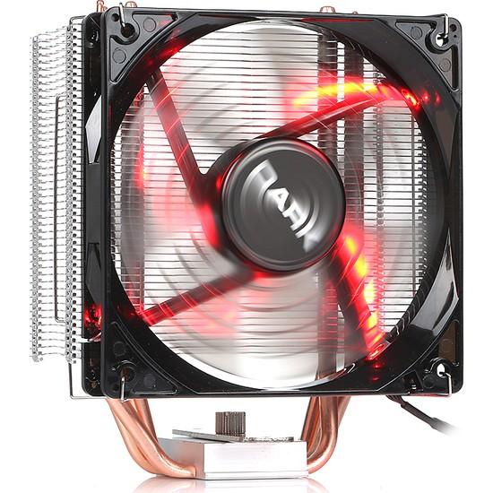 Dark Freezer X120R 12cm Kırmızı LED Intel & AMD 4pin PWM Fanlı İşlemci Soğutucu (DKCCX120R)