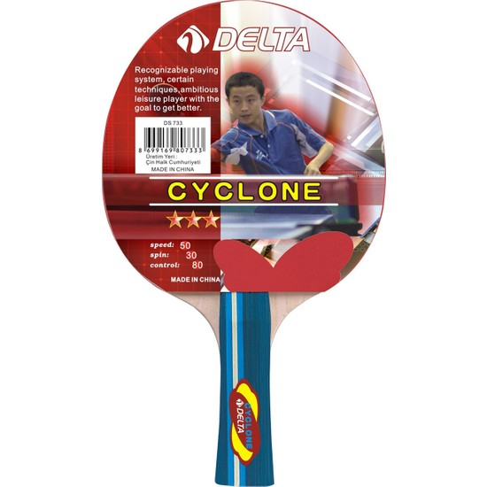 Delta Cyclone *** Masa Tenisi Raketi (Pinpon Raketi)