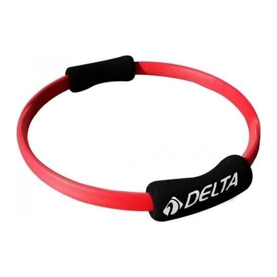 Delta Kırmızı 35 cm Dura - Strong Pilates Çemberi