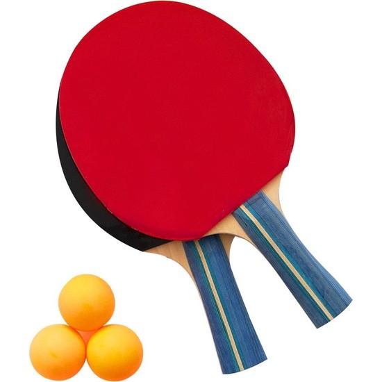 Delta *** Masa Tenisi Seti - 2 Masa Tenisi Raketi + 3 Pinpon Topu