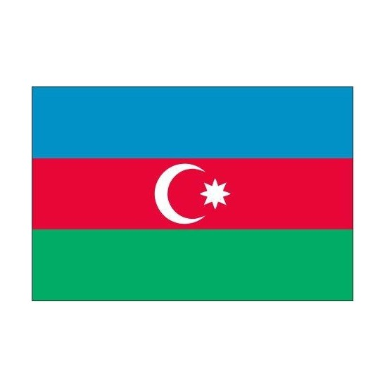 DORUK Azerbaycan Gönder Bayrağı 70 x 105