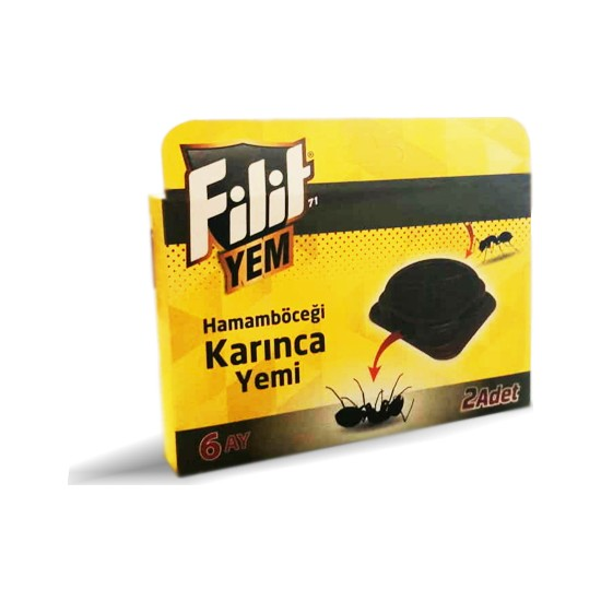 Dual Chemical Filit Karınca Yem Tableti (2'Lı Paket)