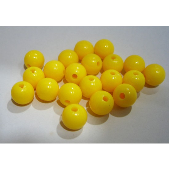 Effe Sarı Boncuk 8 mm