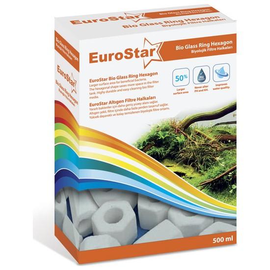 Eurostar Bio Filter Ring Hexagon 500 Ml