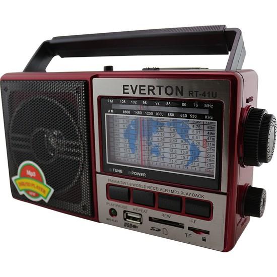 Everton RT-41U USB-SD-FM-SW3 Radyo