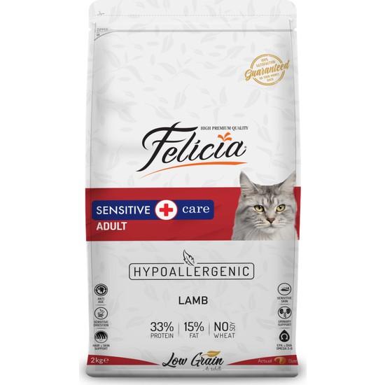 Felicia 12 Kg Kuzu Etli Yetişkin HypoAllergenic Kedi Maması