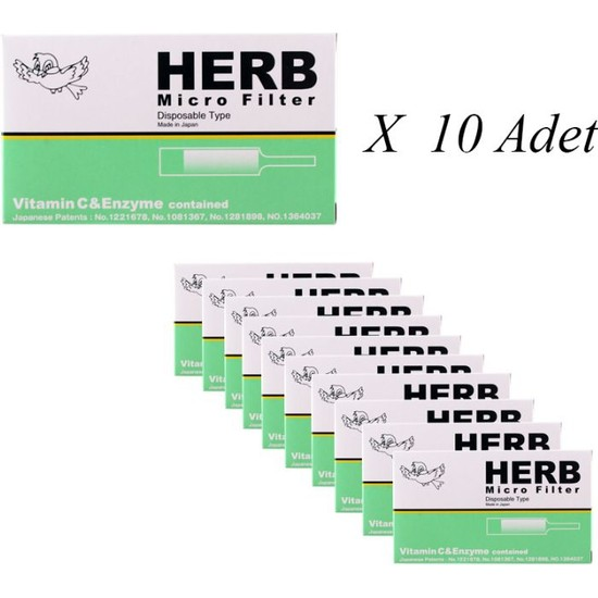 Friend Holder Herb Micro Filter Kullanat Sigara Ağızlığı 10'lu Paket