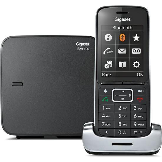 Gigaset SL450 Black Edition Dect Telsiz Telefon