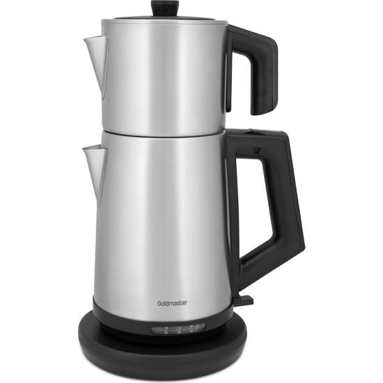 Goldmaster IN-6127 Demmaster Inox Çay Makinası – Damlatmaz Ağız