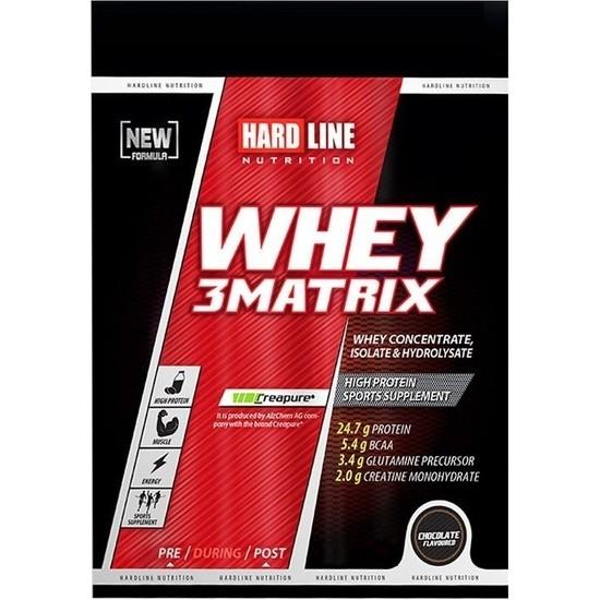 Hardline Whey 3Matrix 30 Gr Tek Kullanımlık Çikolata