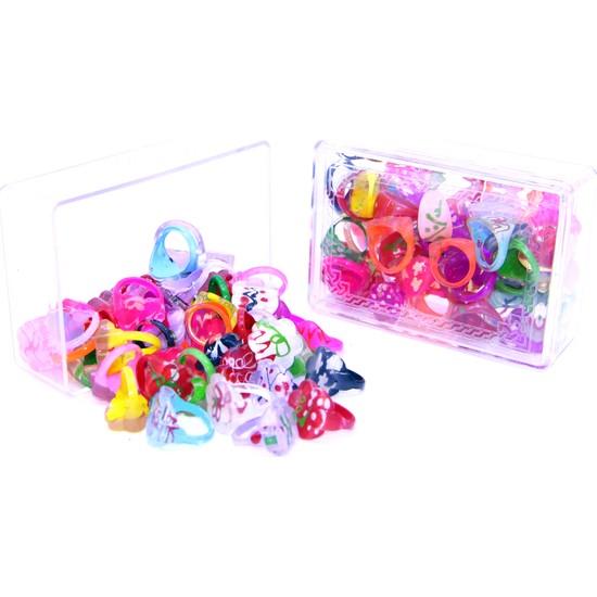 Haremhac 50'li Plastik Çocuk Yüzüğü