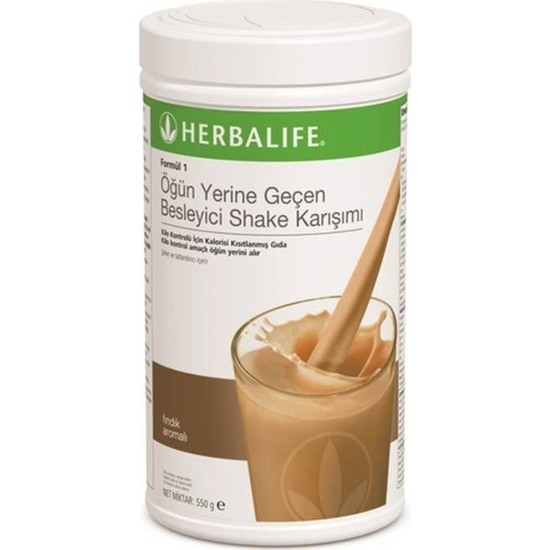 Herbalife Shake Fındık Aromalı