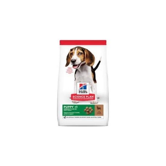Hill's Puppy Medium Healthy Development Kuzulu ve Pirinçli Orta Irk Yavru Köpek Maması 14 kg