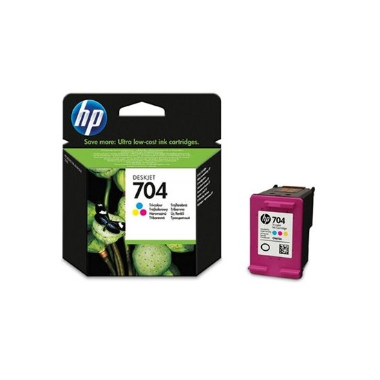 HP 704 Deskjet 2060 Üç Renkli Kartuş CN693AE / CN693A