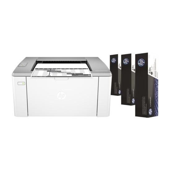 HP LaserJet Ultra M106W Wifi + Airprint + Mono Lazer Yazıcı G3Q39A
