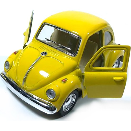 İdea Civciv Sarısı Vosvos Metal Model Araba 10 Cm - 1 Adet