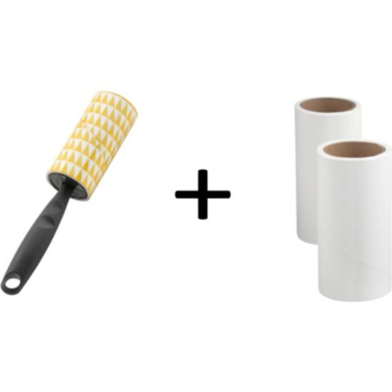 Ikea Bastis Tüy Toplayıcı ve 2 Adet Yedek Rulo