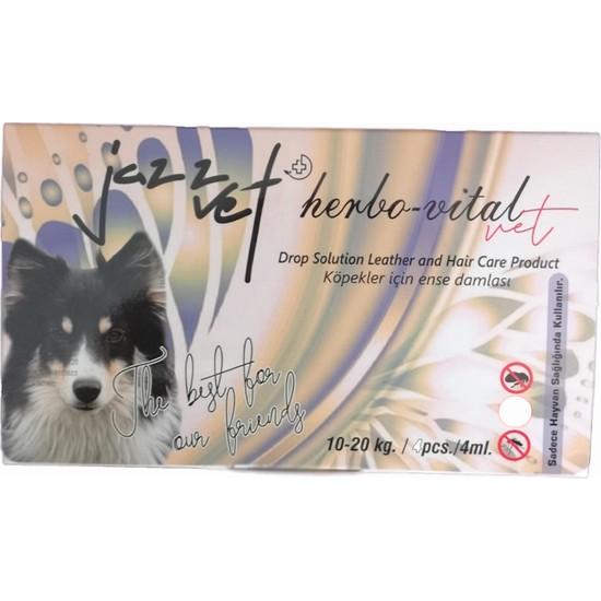 Jazz Vet Köpek Bit Pire Ense Damlası 10-20 kg 4 x 4 ml