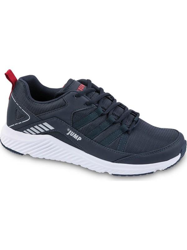 Jump 24865 Büyük Numara Lacivert Beyaz Erkek Spor Sneaker Ayakkabı