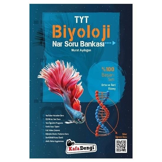 Kafa Dengi Yayınları TYT Biyoloji Soru Bankası Yeni Orta ve İleri Düzey