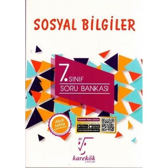 Karekök Yayınları 7.Sınıf Sosyal Bilgiler Soru Bankası