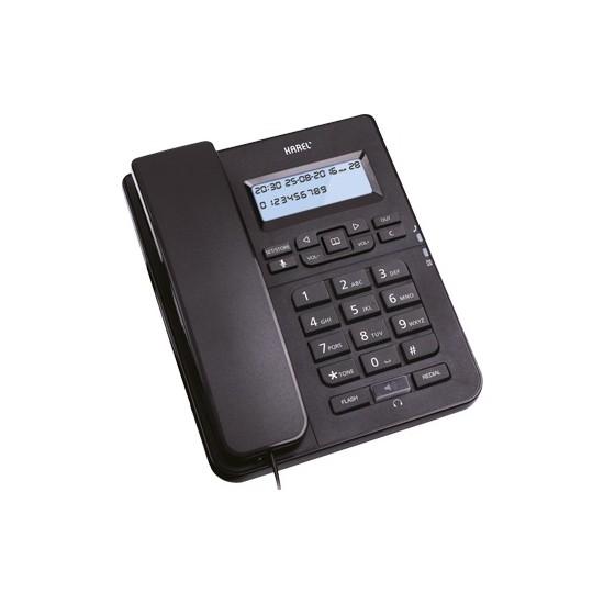 Karel Tm145 Ekranlı Masaüstü Kablolu Telefon Siyah
